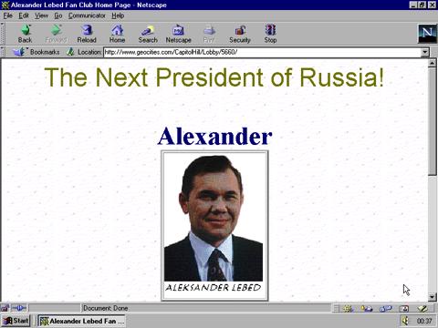 Next president